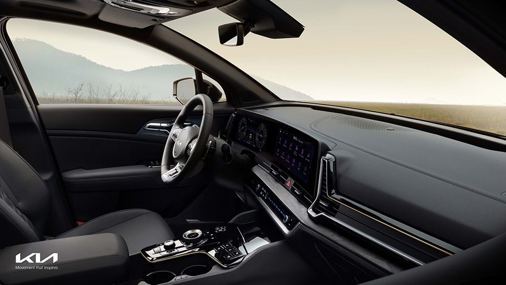 The all-new Sportage interior, the ultimate urban SUV.